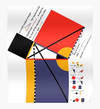 Euclid Geometry Poster