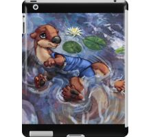 River Otter in Swimsuit iPad Case/Skin