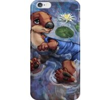 River Otter in Swimsuit iPhone Case/Skin