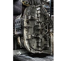 Blast Door Photographic Print