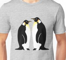 2 penguins Unisex T-Shirt