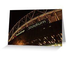 Telstra Stadium Greeting Card