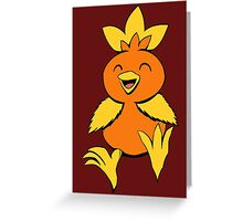 Cute Torchic  Greeting Card