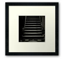 toy stairs Framed Print