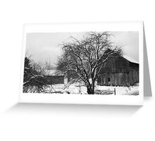THE MENNONITE BARN Greeting Card