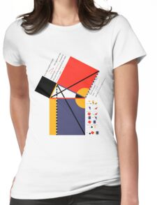 Euclid Geometry Womens Fitted T-Shirt