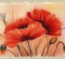 Poppies by Edith Krueger-Nye