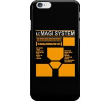 Neon Genesis Evangelion - Magi Super Computer - Rebuild iPhone Case/Skin