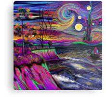 Psychedelic landscape Metal Print