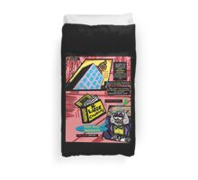 Bird of Steel Comix - Page #3 of 8 (Red Bubble POP-ART COLLECTION SERIES)   Duvet Cover