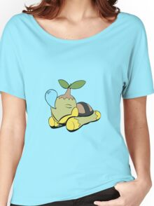 Snoozing Turtwig Women's Relaxed Fit T-Shirt