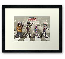 Walking Abbey Road Framed Print