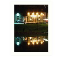 Reflecting on the Local Atmosphere... Art Print