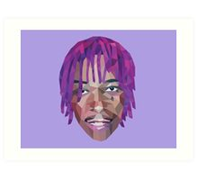 Wiz Khalifa Purple Dreads  Art Print