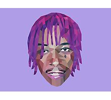 Wiz Khalifa Purple Dreads  Photographic Print