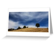 Earth and sky symmetry Greeting Card