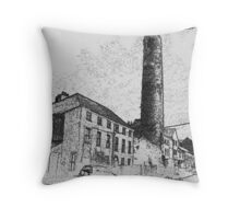 The round tower Throw Pillow