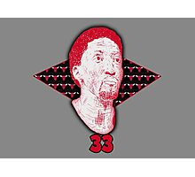 Scottie Pippen #33 Photographic Print
