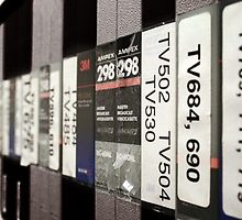 Videotapes by Brad Staggs