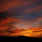Sunset over Campobasso by epsylonlyrae