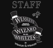 Weasleys' Wizard Wheezes Store Staff by thegadzooks