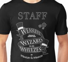 Weasleys' Wizard Wheezes Store Staff Unisex T-Shirt