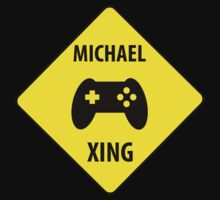 Michael XING (Crossing Sign) -Game Controller T-Shirt