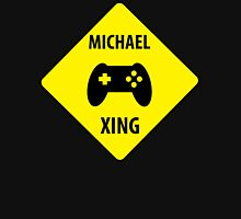 Michael XING (Crossing Sign) -Game Controller Womens Fitted T-Shirt