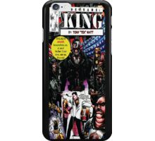 """Code Name: King""  - Comic Book Promo Poster  iPhone Case/Skin"