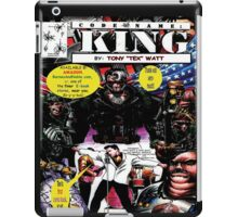 """Code Name: King""  - Comic Book Promo Poster  iPad Case/Skin"