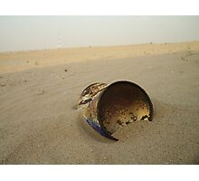 Rusty Can Photographic Print