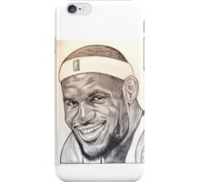 Lebron James, Miami Heat drawing iPhone Case/Skin