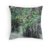 Tranquil Mountain Throw Pillow