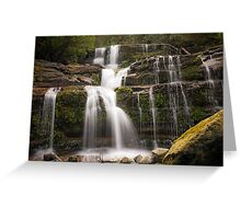 Liffey Falls - Northern Tasmania - Australia Greeting Card