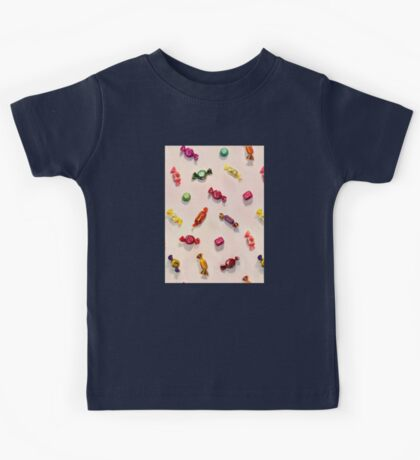 Sweet Candy Painted Pattern Kids Tee