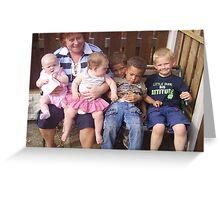 Our Grandchildren Greeting Card