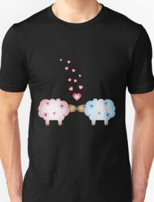 Sheep in love Unisex T-Shirt