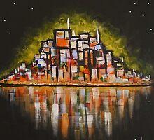 Cityscape 2 by Matt Ware