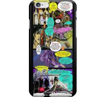 """""""Code Name: King #2"""" Comic Book Page Art - 'No Horse Fartin' in The Caddy' iPhone Case/Skin"""