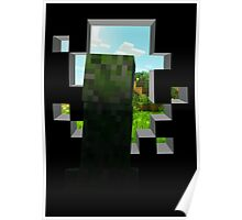 Reverse Inside the wall Creeper Poster