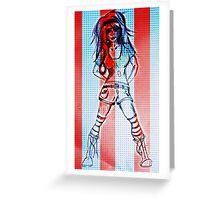 RHR Patriot Girl Greeting Card