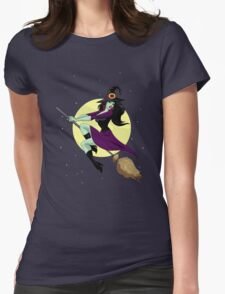 Wicked Flight! Womens Fitted T-Shirt