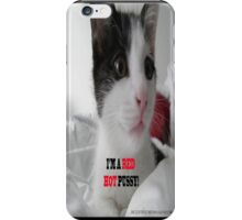 Sophia The Cat #1 [Tex's Owner] iPhone Case/Skin