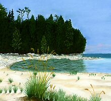 Whitefish Bay Point by GeorgeBurr