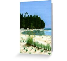 Whitefish Bay Point Greeting Card