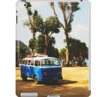 VW with Surfboards at Palau Merah Beach, Java iPad Case/Skin