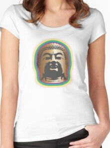 Rainbow Glow Women's Fitted Scoop T-Shirt