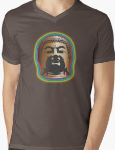 Rainbow Glow Mens V-Neck T-Shirt