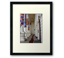 Cosy Columns 18 Framed Print