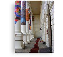 Cosy Columns 18 Canvas Print